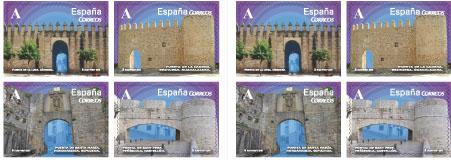ESTANCO LEON 28,EXPENDEDURIA 47,EN EL BARRIO DE LAS LETRAS, EMISIONES FILATELICAS ENERO 2015