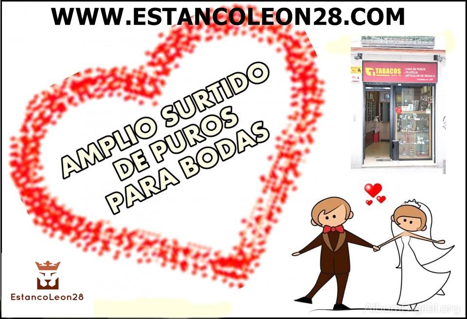 ESTANCO LEON 28,EXPENDEDURIA 47 DE MADRID, EN EL BARRIO DE LAS LETRAS,CAVA DE PUROS Y ARTICULOS PARA EL FUMADOR.
